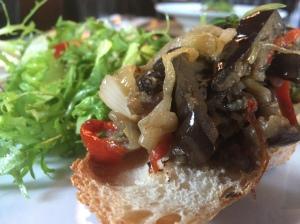 Side - Salada com Beringela